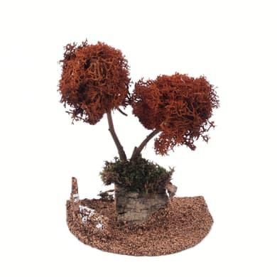 Alberi di lichene H 18 cm