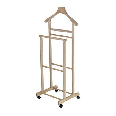 Indossatore doppio in legno L 35.5 x H 104 x P 33 cm