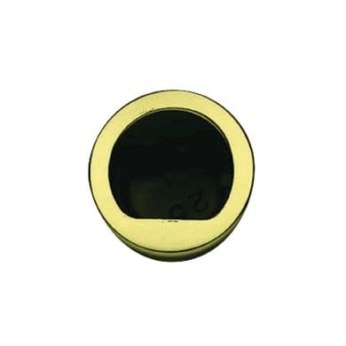Trascinatore per porta scorrevole tondo in ottone