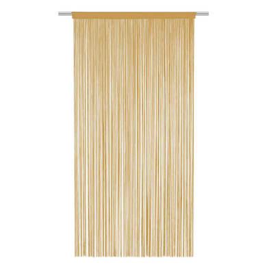 Tenda per porta Spaghetti beige tunnel 140 x 270 cm