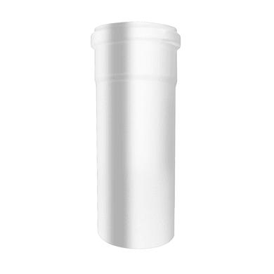 Tubo Tubo m.0,25 smaltato avorio Dn 80 mm in acciaio al carbonio smaltato L 25 cm x Ø 80 mm