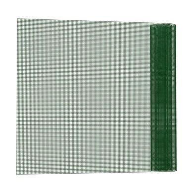 Rotolo di rete metallica saldato Electroplast verde L 25 x H 1 m