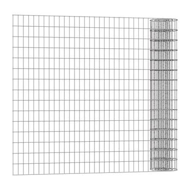 Rotolo di rete metallica elettrosaldato Executive ECO grigio / argento L 25 x H 1.5 m