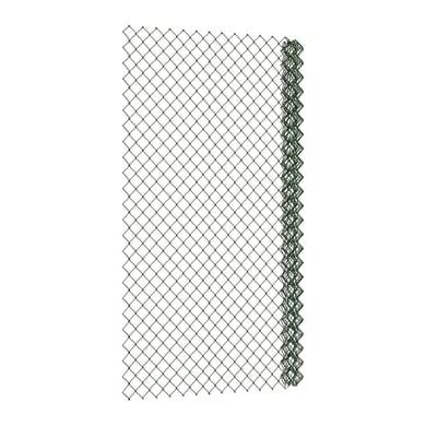 Rotolo di rete metallica a torsione semplice Ideal verde L 25 x H 1.25 m