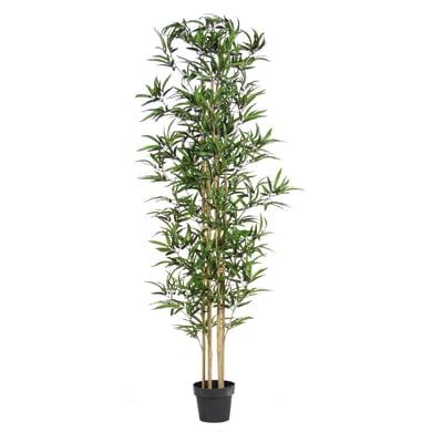 Pianta artificiale Bamboo in vaso H 200 cm