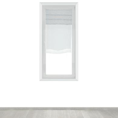 Tendina vetro Malesia grigio tunnel 60 x 230 cm