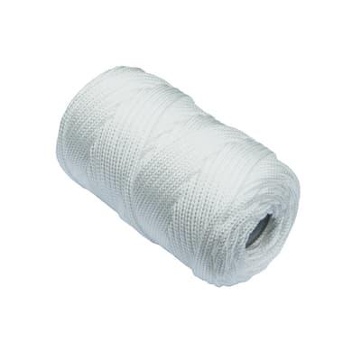 Corda a treccia in polipropilene STANDERS L 50 m x Ø 3 mm bianco