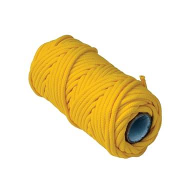 Corda a treccia in polipropilene STANDERS L 20 m x Ø 3 mm giallo / dorato