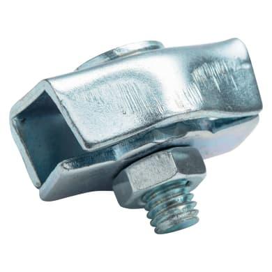 Morsetto simplex in acciaio STANDERS Sp 5 mm