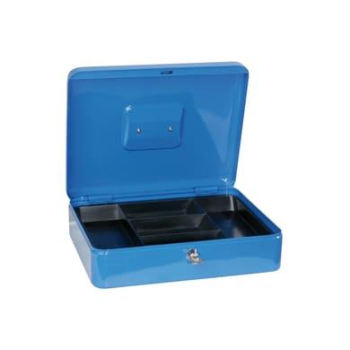 Cassetta porta valori Elegant 76/4 in acciaio rossoL 30 x P 24 x H 9 cm