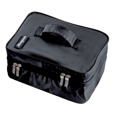Custodia per vestiti nero L 21.5 x Sp 29 x H 13 cm