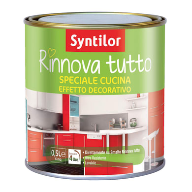 Vernice protettiva SYNTILOR 0.5 L trasparente lucido