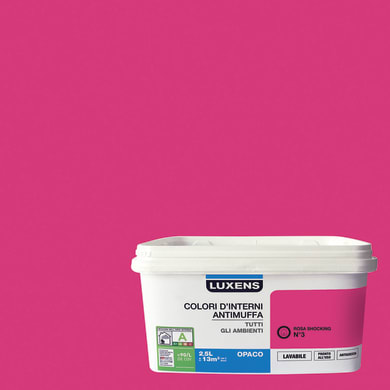 Pittura murale LUXENS 2.5 L rosa shocking 3
