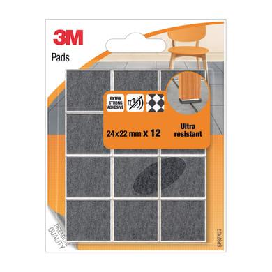 Pattino 3M SP87A37 L 24 mm, H 22 mm, 12 pezzi