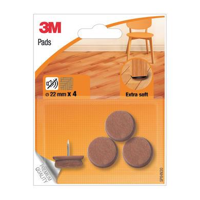 Pattino 3M SP84N30 Ø 22 mm, 4 pezzi