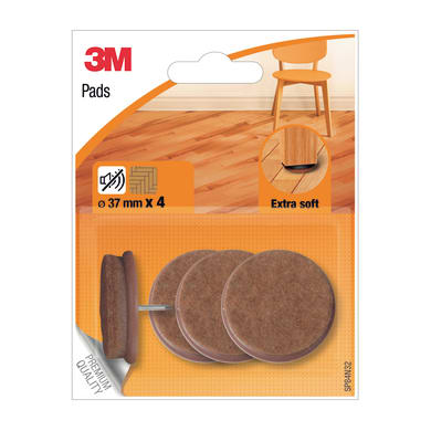 Pattino 3M SP84N32 Ø 37 mm, 4 pezzi