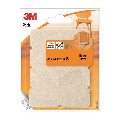 Pattino 3M SP84A25 L 35 mm, H 24 mm, 8 pezzi