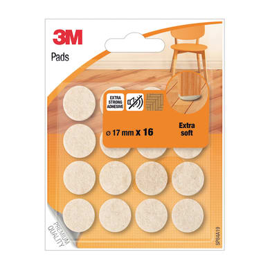 Pattino 3M SP84A19 Ø 17 mm, 16 pezzi