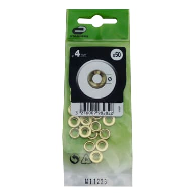 Rondella concavoSTANDERS Ø 4 - 10 mm, 50 pezzi
