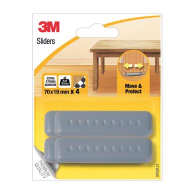 Pattino 3M SP62A13 H 70 mm, 4 pezzi