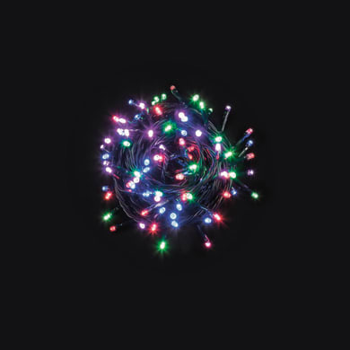 Catena luminosa 480 lampadine LED multicolore 400 cm