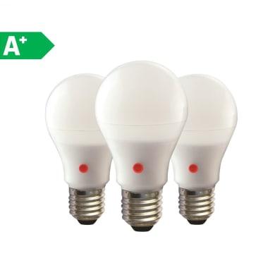 Set di 3  lampadine LED, E27, Goccia, Opaco, Luce naturale, 12W=1040LM (equiv 75 W), 270°