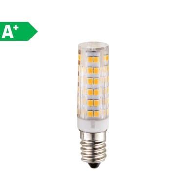 Lampadina LED, E14, Tubo, Opaco, Luce fredda, 5W=470LM (equiv 40 W), 360°