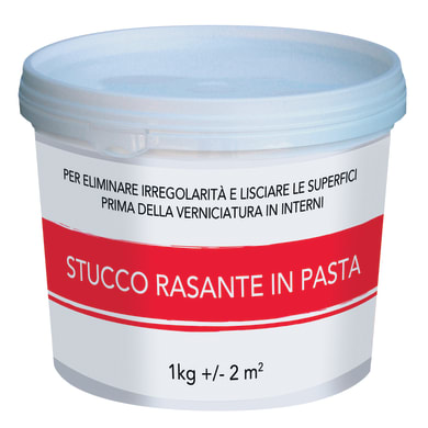 Stucco in pasta Rasante 1 kg bianco