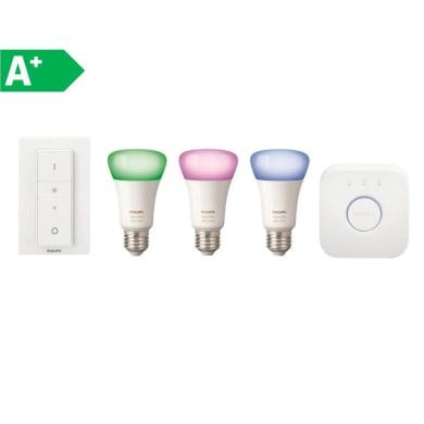 Lampadina LED E27 goccia colore cangiante 10W = 806LM (equiv 60W) 220° PHILIPS HUE