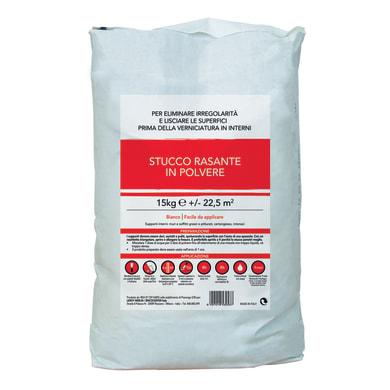 Stucco in polvere Rasante 15 kg bianco