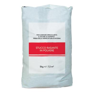 Stucco in polvere Rasante 5 kg bianco