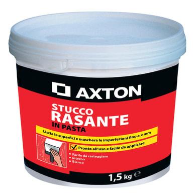 Stucco in pasta AXTON Rasante 1.5 kg bianco