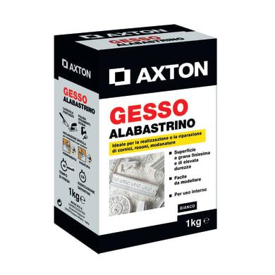 Gesso in polvere AXTON Alabastrino 1 kg bianco