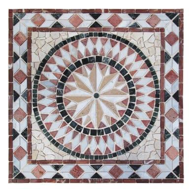 Rosone Diamante 67 x 67 cm sp. 7 mm multicolore