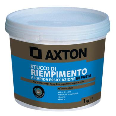 Stucco in pasta AXTON Rapido 1 kg bianco