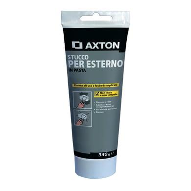 Stucco in pasta AXTON per esterno 0.33 kg bianco