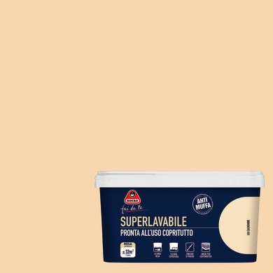 Pittura murale Superlavabile BOERO 2.5 L cachemire