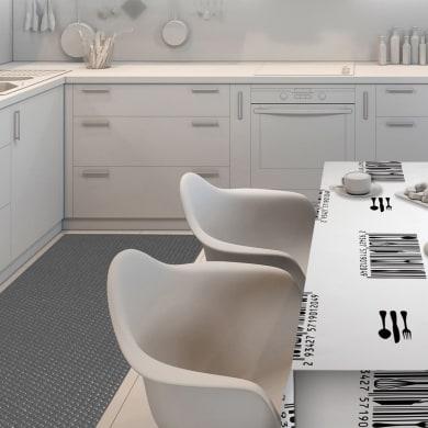 Tappeto per lavello pvc espanso grigio L 65 x H 33 cm