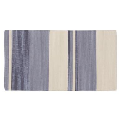 Tappeto Antibes in cotone, grigio, 50x110 cm