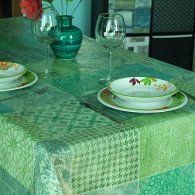 Tovaglia INSPIRE Kaori verde 140x220 cm
