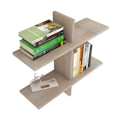 Libreria L 68 x P 22 x H 68 cm rovere