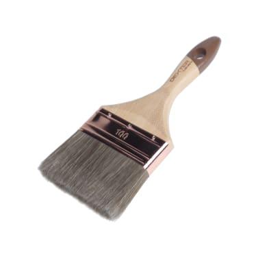 Pennello Piatto per legno 100 mm per Olio, vernice, impregnante legno DEXTER PRO