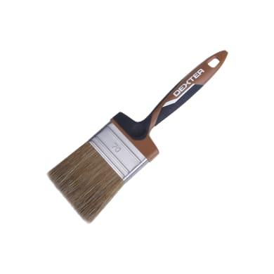 Pennello Piatto per legno 70 mm per Olio, vernice, impregnante legno DEXTER