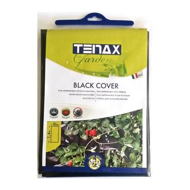 Telo di pacciamatura TENAX antierbacce nero L 10 x L 1.4 m