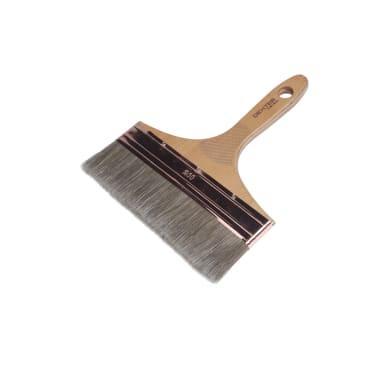Pennello Piatto 200 mm per Olio, vernice, impregnante legno DEXTER PRO