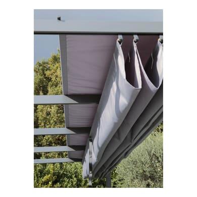 Tela in poliestere Niagara grigio 282 x 400 cm