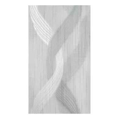 Tessuto Tenda Treccia bianco 320 cm