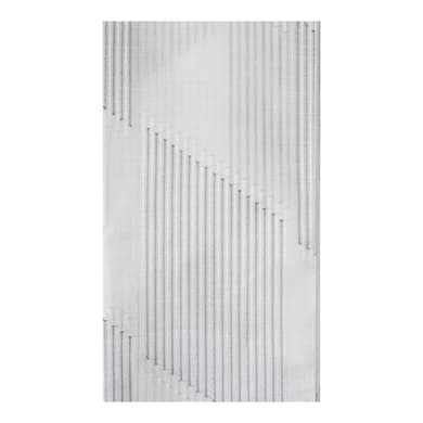 Tessuto Tenda Zero Preziosa grigio 315 cm