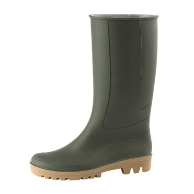 Stivali in pvc verde Ginocchio misura 43