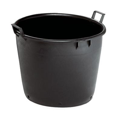 Vaso da coltura Linea professionale STEFANPLAST in plastica colore nero H 36 cm, Ø 40 cm